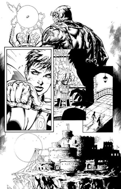 Green Lantern Corps #54 pg12