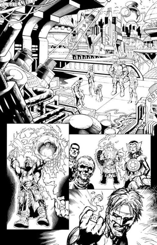 Green Lantern Corps #54 pg18