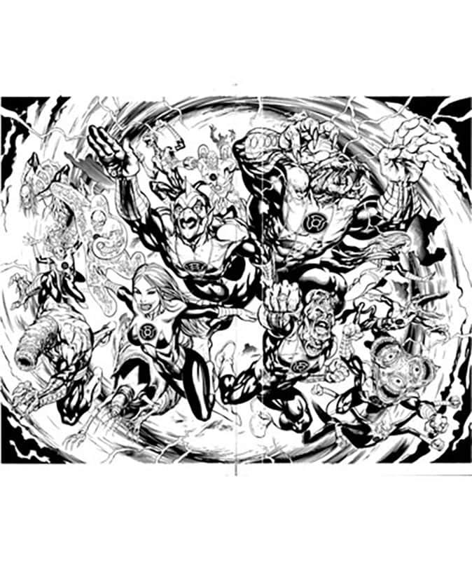 Green Lantern Corps #55 pg 2&3