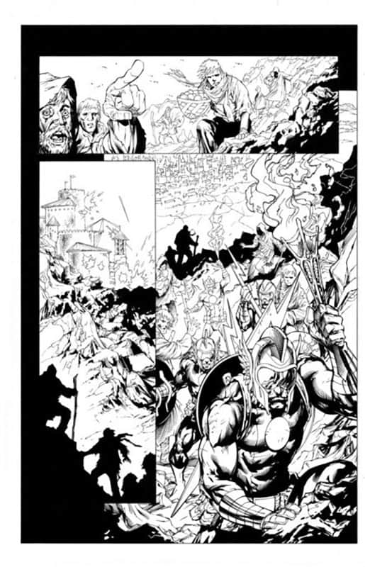Green Lantern Corps #55 pg 1