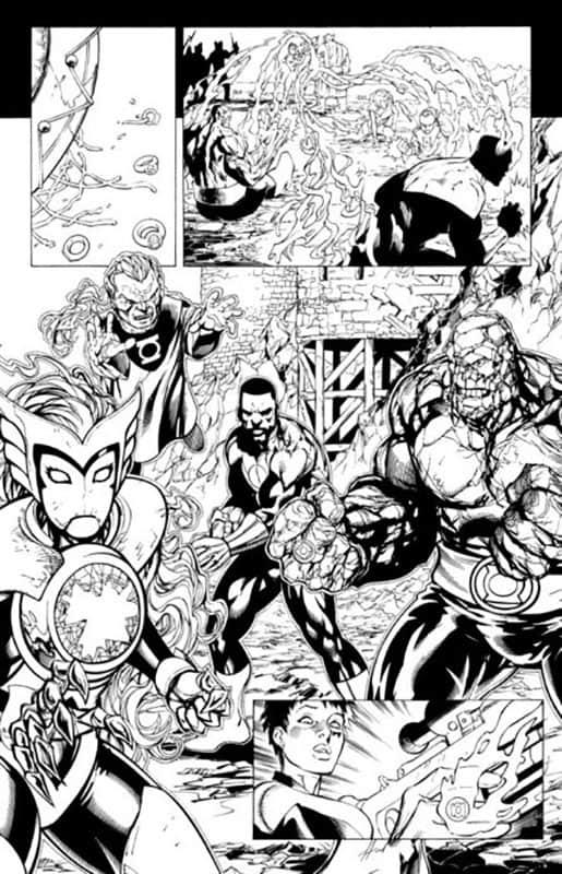Green Lantern Corps #56 pg 6
