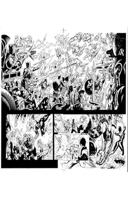 Green Lantern Corps #57 pg10 & 11