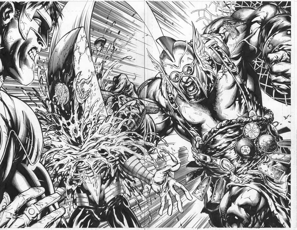 Green Lantern Corps #53 pg12 & 13