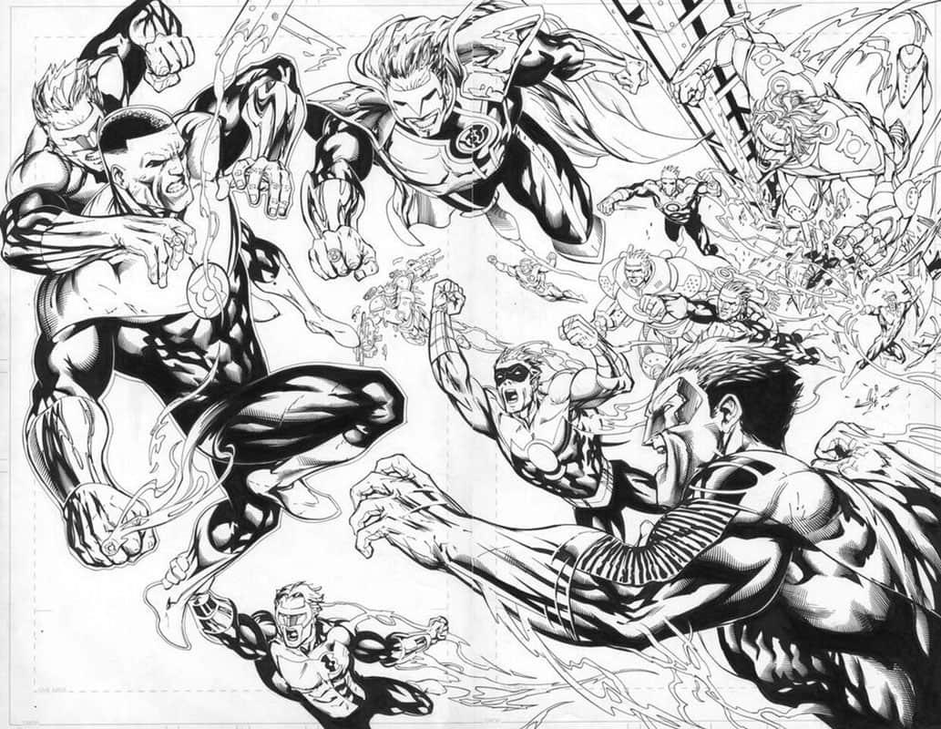 Green Lantern Corps #58 pg10 & 11