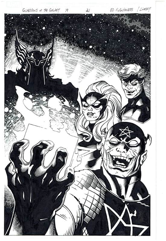 Guardians of the Galaxy #19 pg21