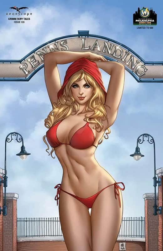 Grimm Fairy Tales #123 Philly Wizard Variant