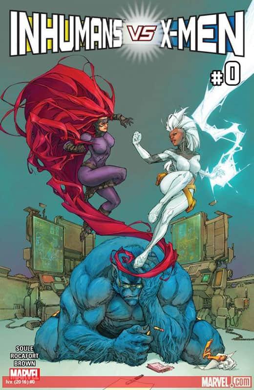 Inhumans vs. X-Men # 0