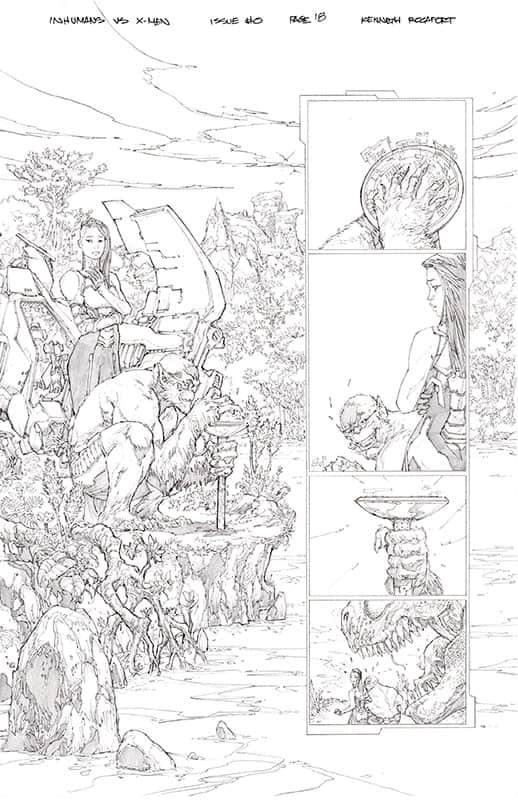 Inhumans vs. X-Men # 0 pg18