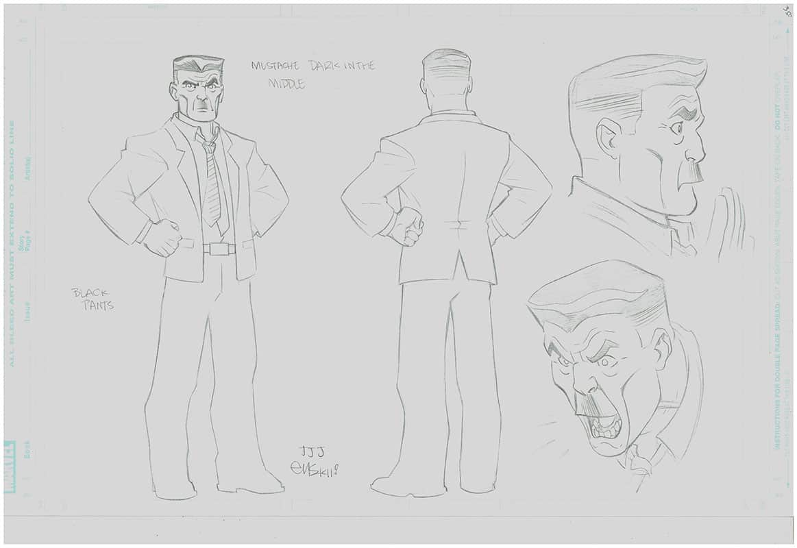 Ultimate Spiderman  Animated - J.Jonah Jameson