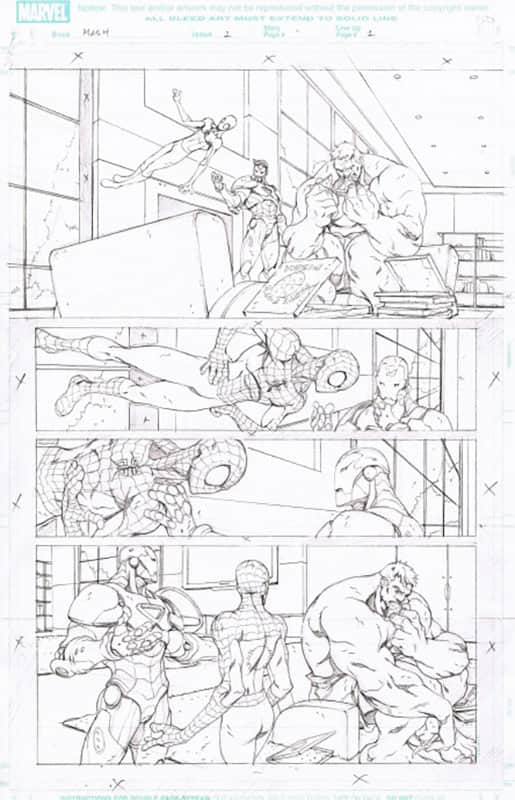 Marvel Adventures : Spiderman # 1 pg  1