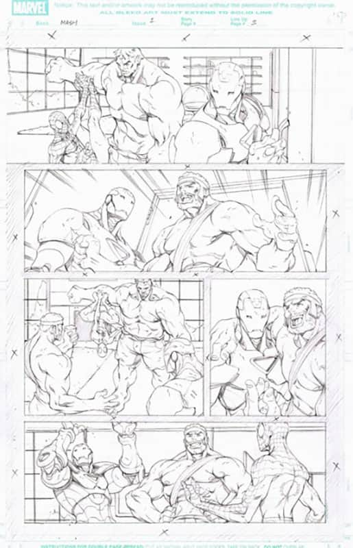 Marvel Adventures : Spiderman # 1 pg  3