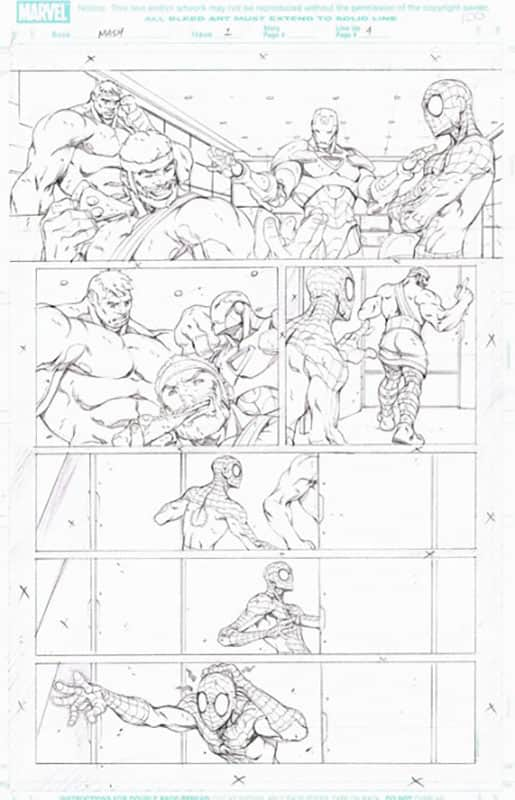 Marvel Adventures : Spiderman # 1 pg  4