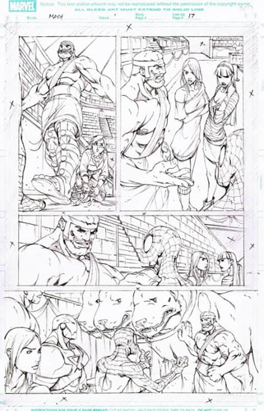 Marvel Adventures : Spiderman # 1 pg 17