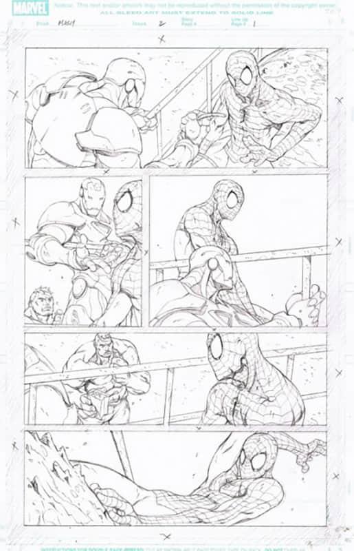 Marvel Adventures : Spiderman # 2 pg 1