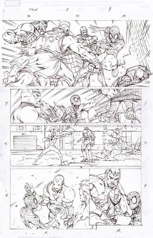 Marvel Adventures : Spiderman # 3 pg 8