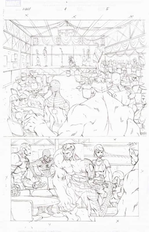 Marvel Adventures : Spiderman # 4 pg 5