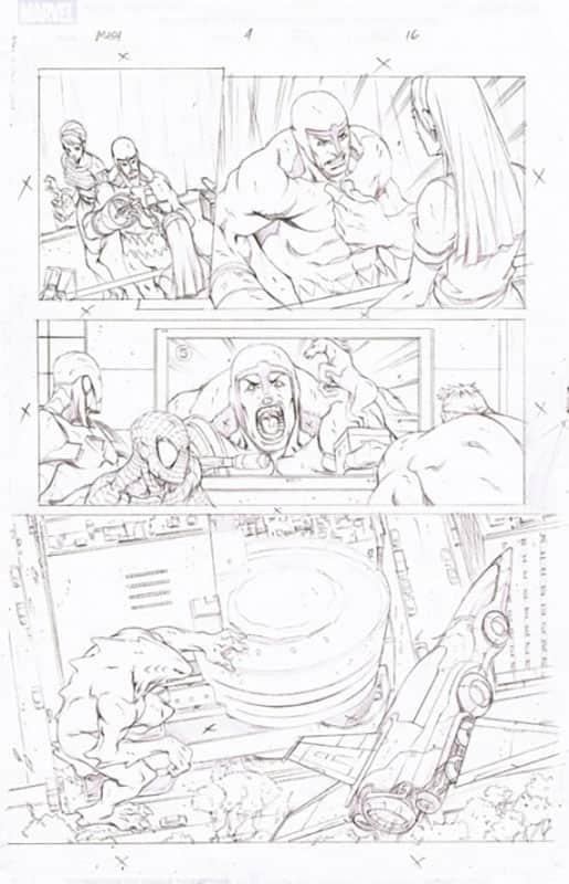 Marvel Adventures : Spiderman # 4 pg16