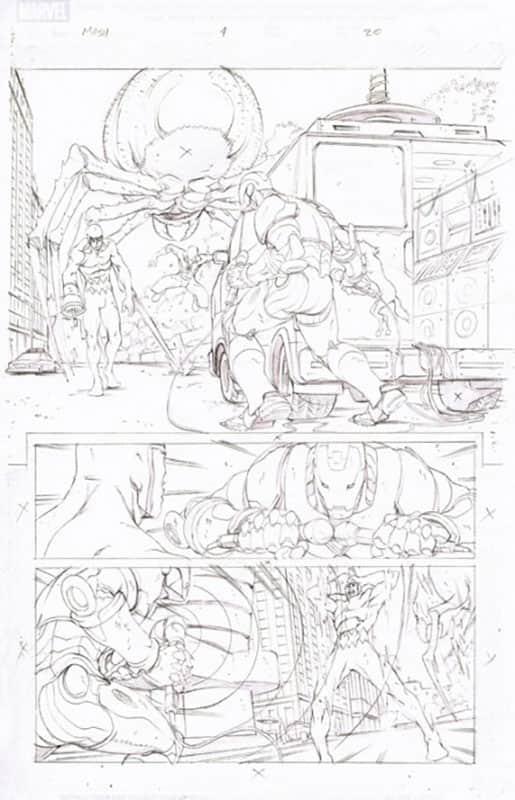Marvel Adventures : Spiderman # 4 pg20