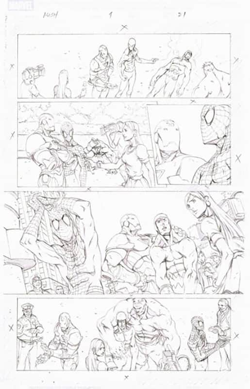 Marvel Adventures : Spiderman # 4 pg21