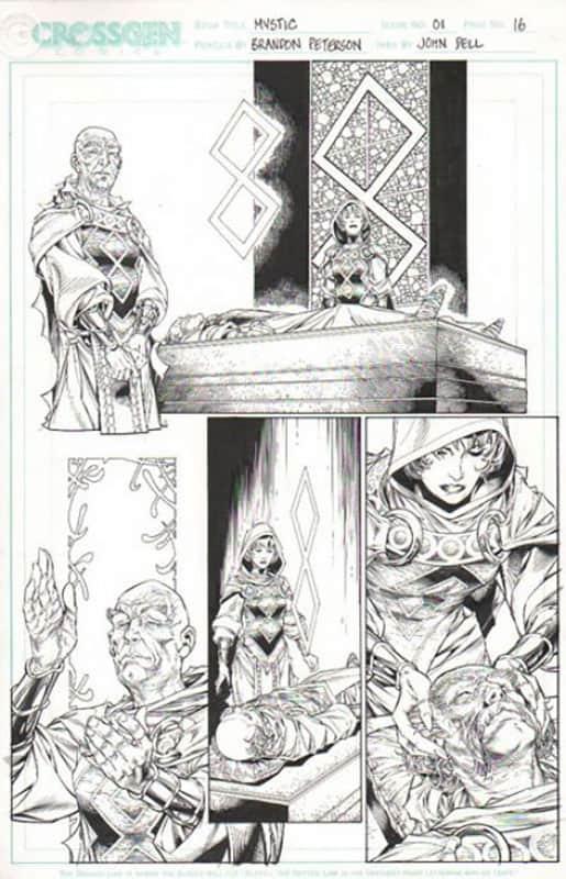 Mystic #1 pg 16