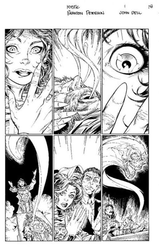Mystic #1 pg 18