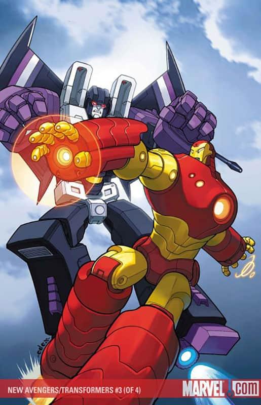 New Avengers vs. Transformers # 3