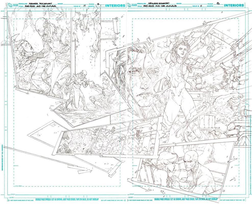 Red Hood & the Outlaws #11 pg 2&3