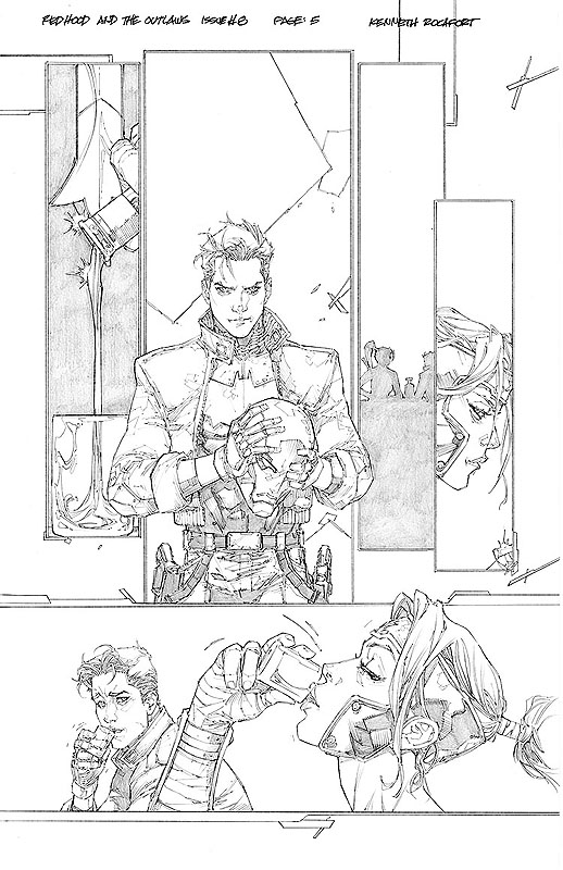 Red Hood & the Outlaws # 8 pg 5
