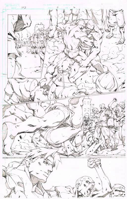 Street Fighter II # 0 pg 2