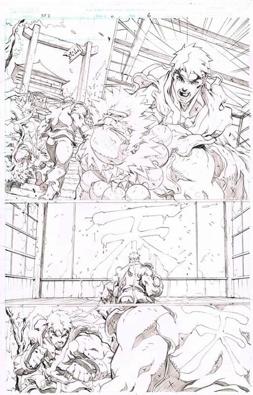 Street Fighter II # 0 pg 6