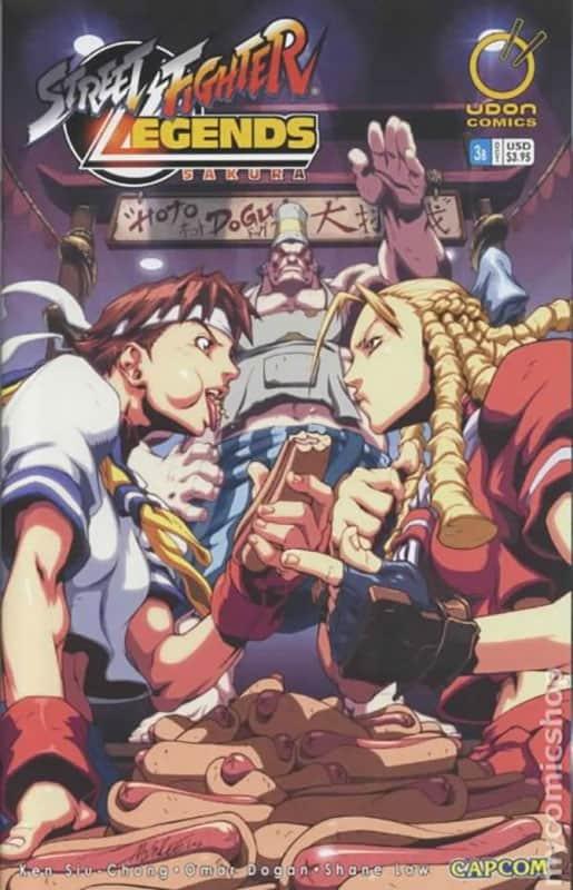 Street Fighter: Legends Sakura #3B