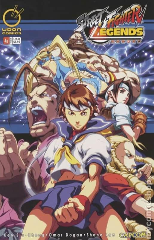 Street Fighter: Legends Sakura #4B