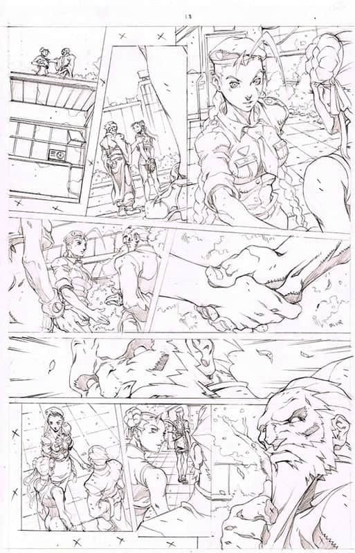 Street Fighter II # 1 pg13