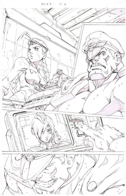 Street Fighter II # 3 pg 1