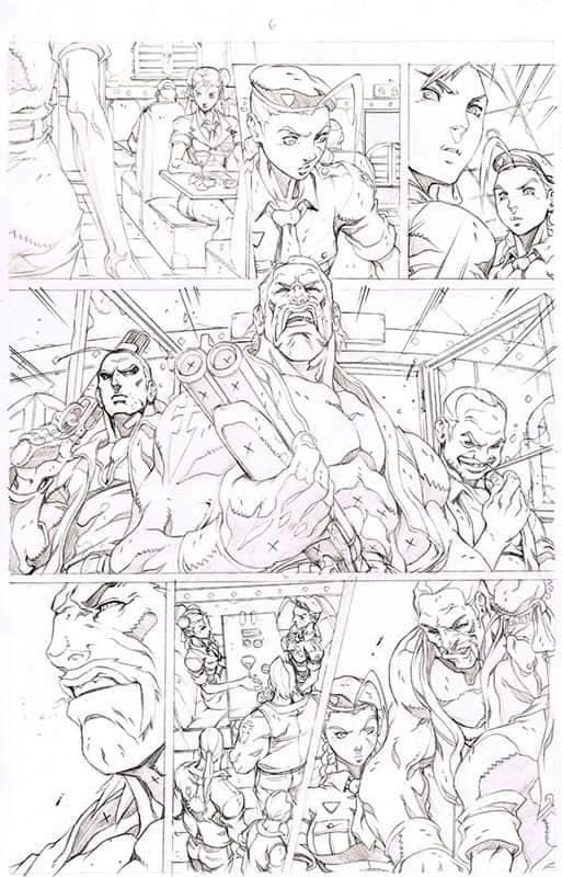 Street Fighter II # 3 pg 6