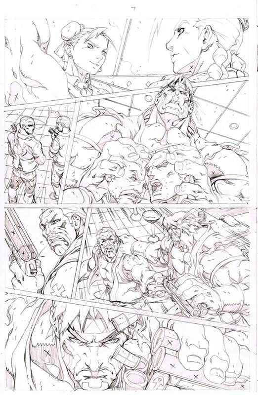 Street Fighter II # 3 pg 7