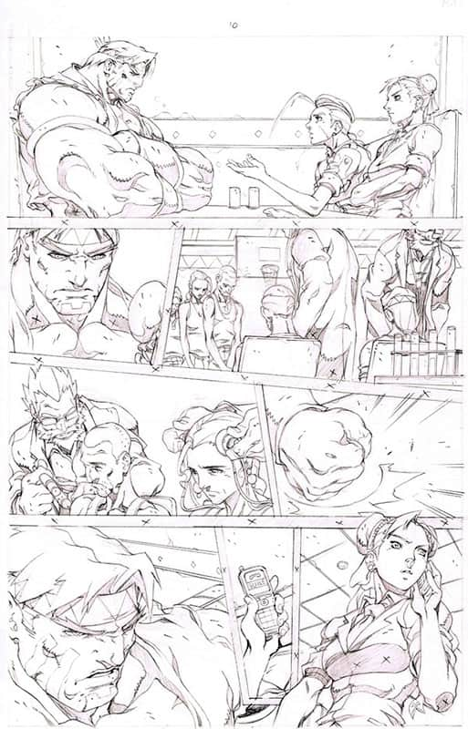 Street Fighter II # 3 pg10