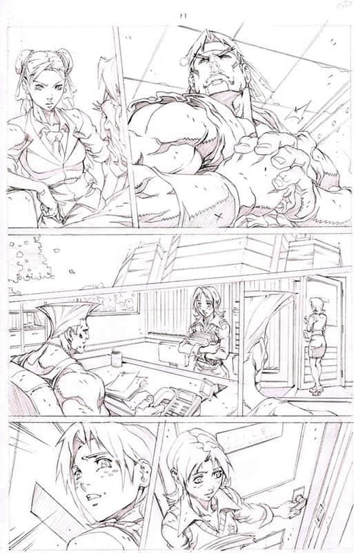 Street Fighter II # 3 pg11