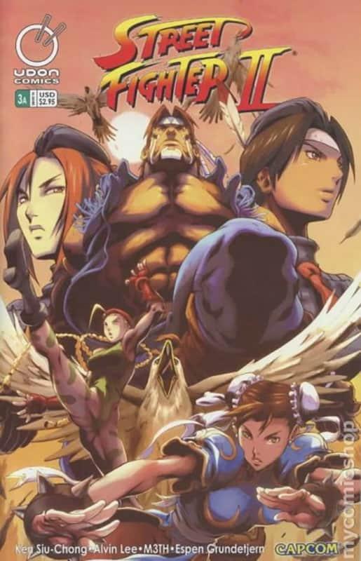 Street Fighter II #3A