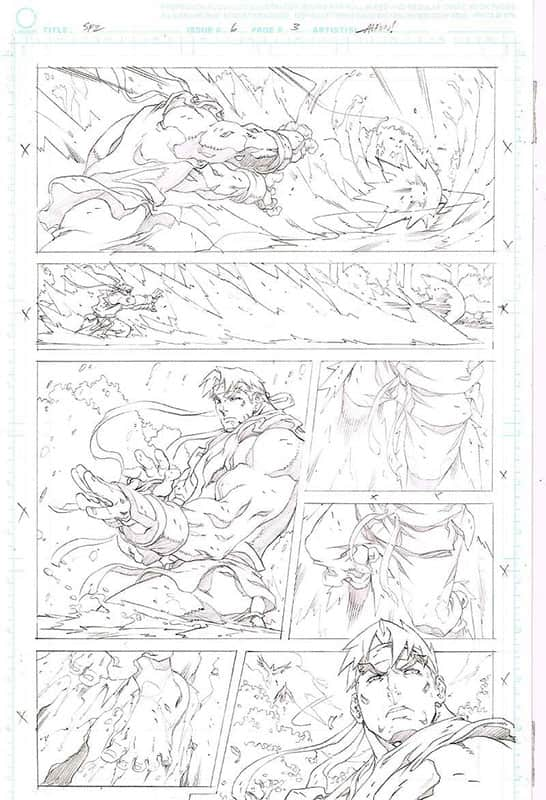 Street Fighter II # 6 pg 3