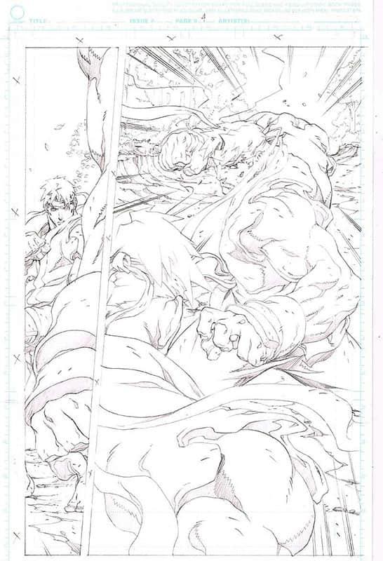 Street Fighter II # 6 pg 4
