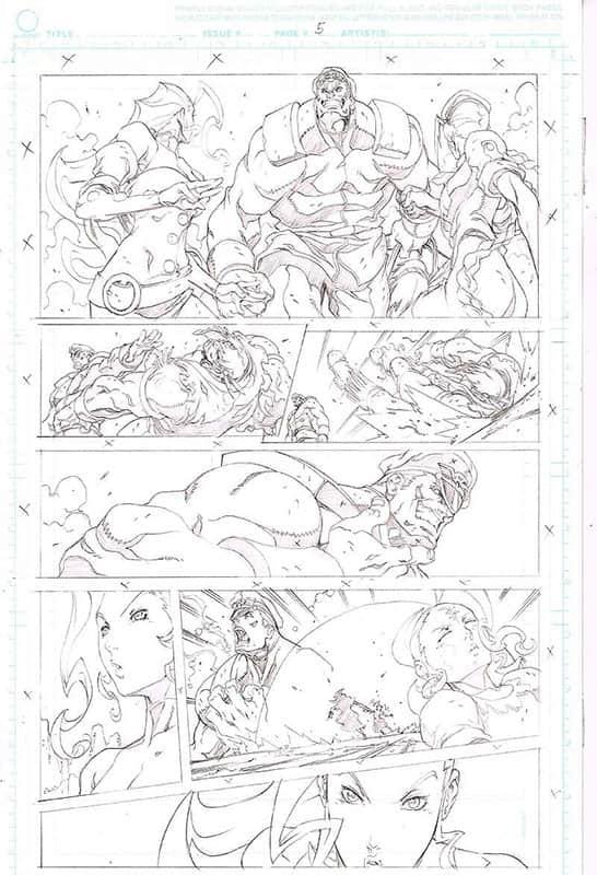 Street Fighter II # 6 pg 5