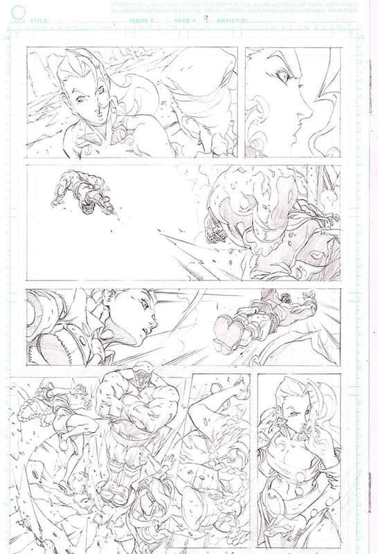 Street Fighter II # 6 pg 9