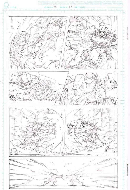 Street Fighter II # 6 pg17