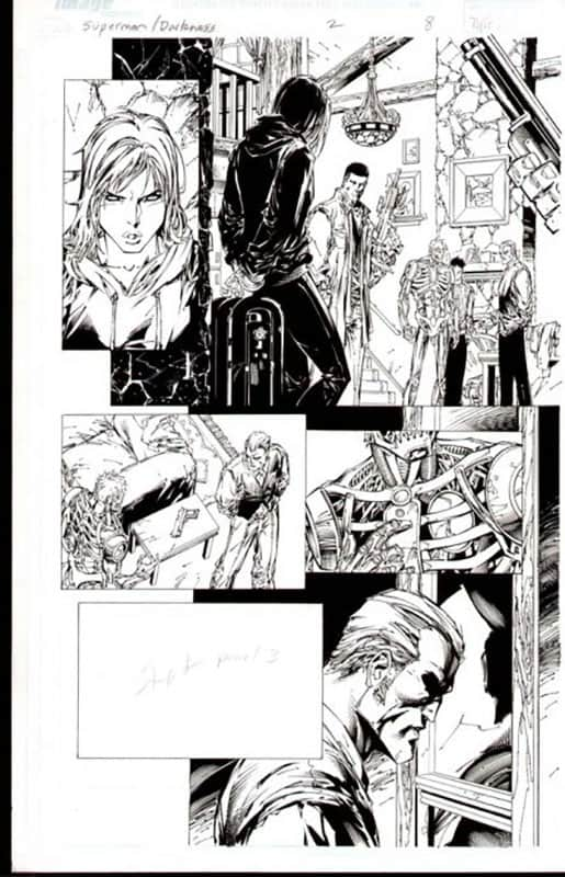 Darkness & Superman #2 pg  8