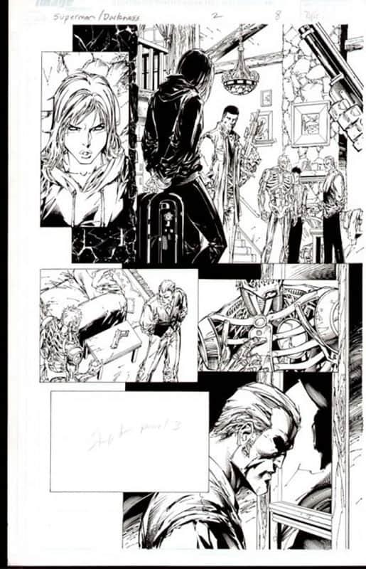 Darkness & Superman #2 pg  8