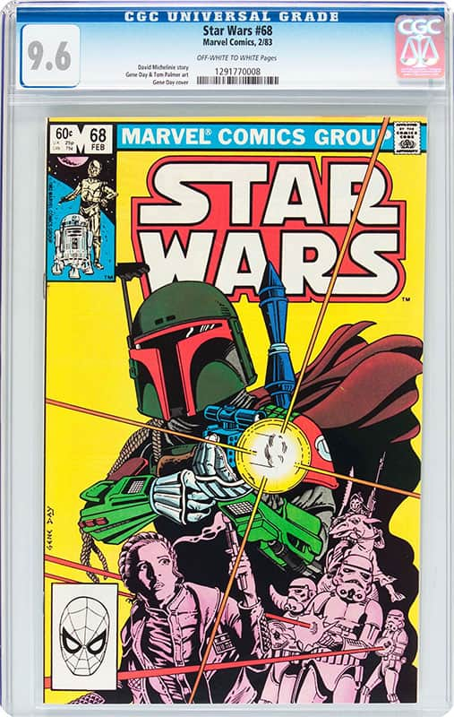 Star Wars #68 CGC 9.6 OW/WP