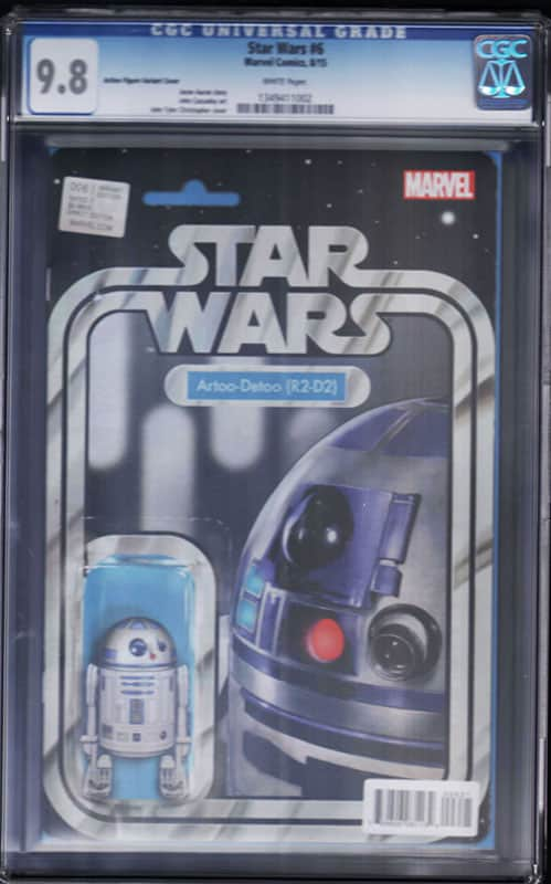 Star Wars # 6 R2D2 CGC 9.8 WP