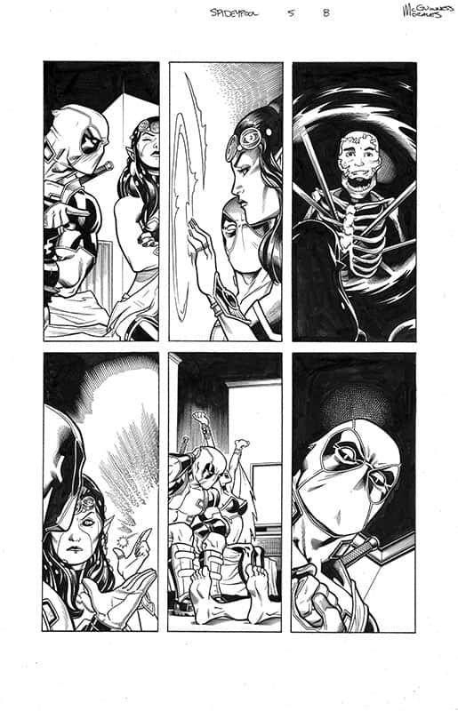 Spider-man / Deadpool # 5 pg 8