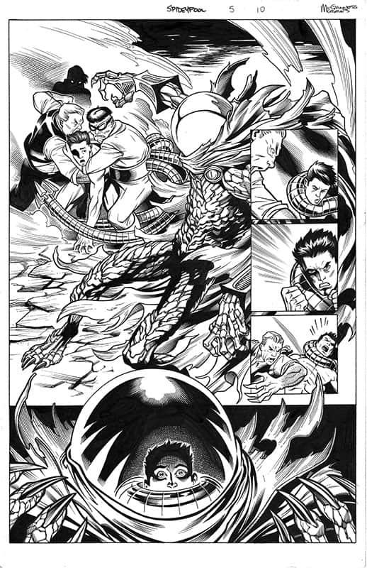 Spider-man / Deadpool # 5 pg10